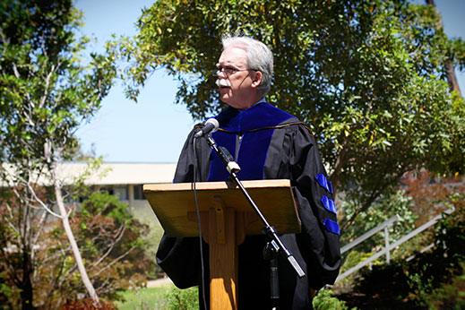 Kevin Clark Speaking at Cal Poly San Luis Obispo Graduation
