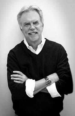 Kevin Clark Portrait, Black and White
